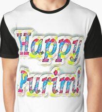 Happy Purim! Graphic T-Shirt