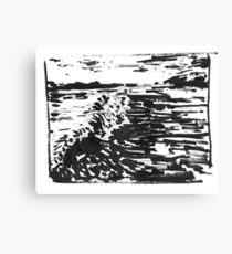Ocean time Canvas Print