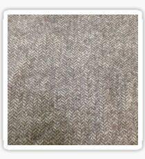 Handwoven tweed Sticker