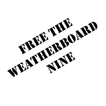 Free the Weatherboard Nine by wolfcat
