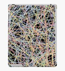 Colored Line Chaos #13 iPad Case/Skin