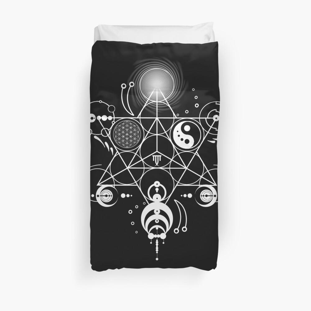Sacred Crops - Weiß Bettbezug