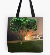 Oriental Bay Tree Tote Bag