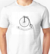 Penny Farthing Illustration T-Shirt