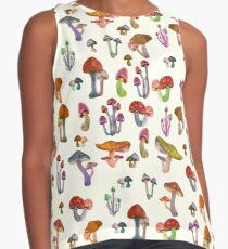 Mushrooms Contrast Tank