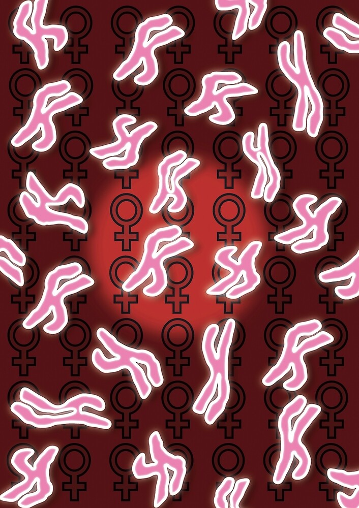 Female Chromosomes by sciencegeekness