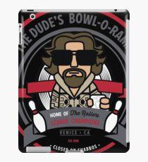 The Dude's Bowl-o-Rama iPad Case/Skin
