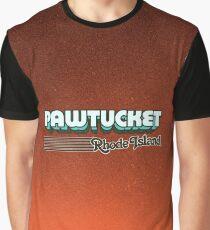 Pawtucket, Rhode Island | Retro Stripes Graphic T-Shirt
