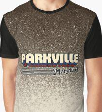 Parkville, Maryland | Retro Stripes Graphic T-Shirt