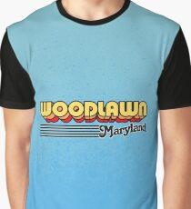 Woodlawn, Maryland | Retro Stripes Graphic T-Shirt