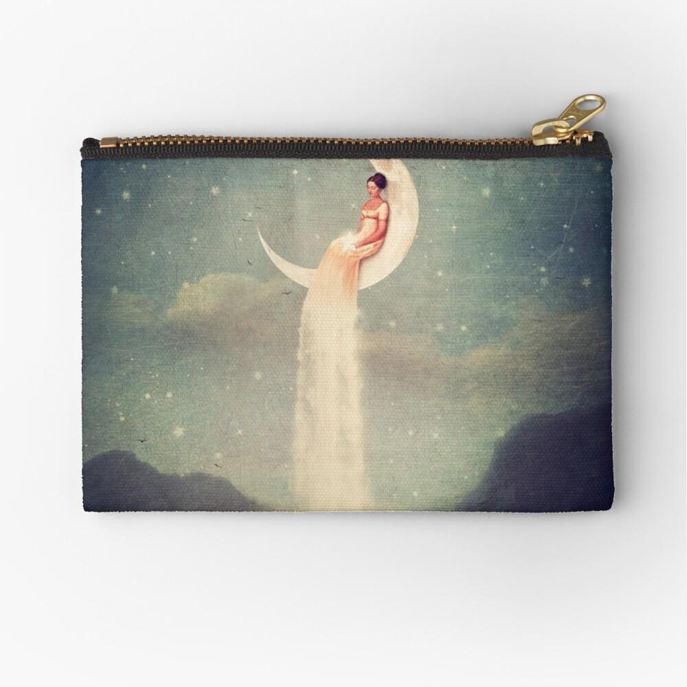 Moon River Lady Zipper Pouch