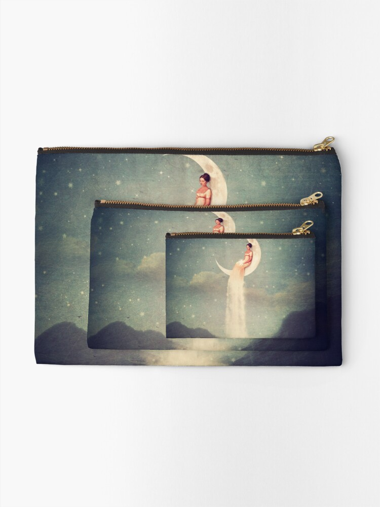 Alternate view of Moon River Lady Zipper Pouch