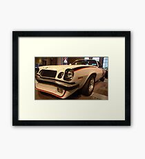 Cannonball - 1976  Framed Print