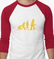 Robot Evolution Men's Baseball ¾ T-Shirt