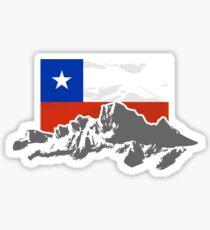 Chile Flag Sticker