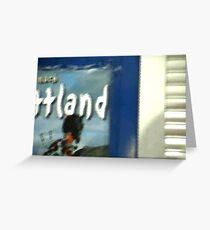 Schottland Greeting Card