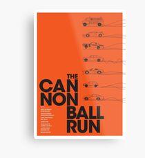 The Cannonball Run Metal Print