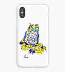 owl on the money tree iPhone Case/Skin