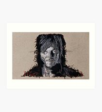 Daryl Dixon The Walking Dead Art Print