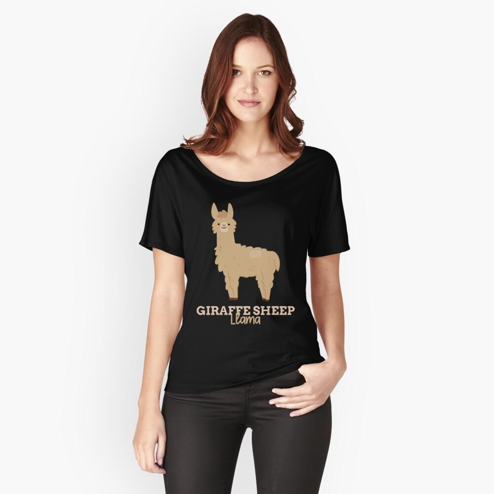 4d6a19e4 Funny Animal Name Meme Giraffe Sheep LLAMA