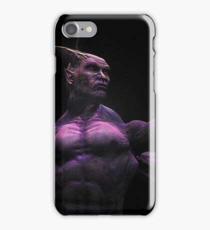 YOU DON'T BELONG HERE, YOU NEED TO LEAVE.... iPhone Case/Skin