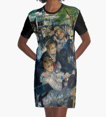 Renoir - Dance at Le Moulin de la Galette, 1876 Graphic T-Shirt Dress