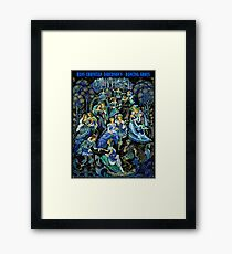 HANS CHRISTIAN ANDERSON : Vintage Dancing Shoes Fairytale Print Framed Print