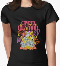 Crypto wizzard Women's Fitted T-Shirt