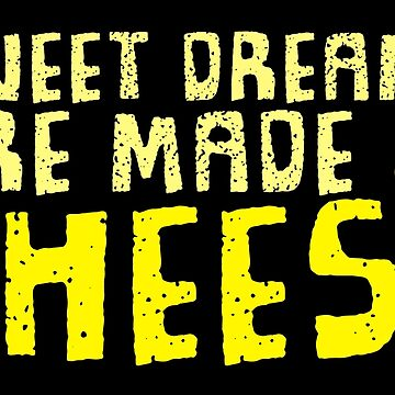 Dreaming about Cheese - Sweet 1980s Retro Design! by ChillDesign