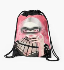 Libertè d'amour Drawstring Bag