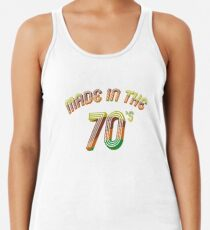 Hergestellt in den 70er Jahren retro Vintage Geburtstag Shirt Tanktop für Frauen
