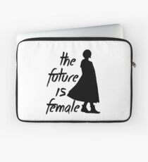 The Future is Female (Dr. Who) Laptop Sleeve