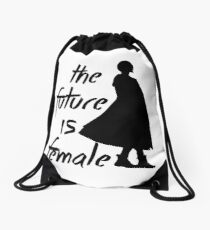 The Future is Female (Dr. Who) Drawstring Bag
