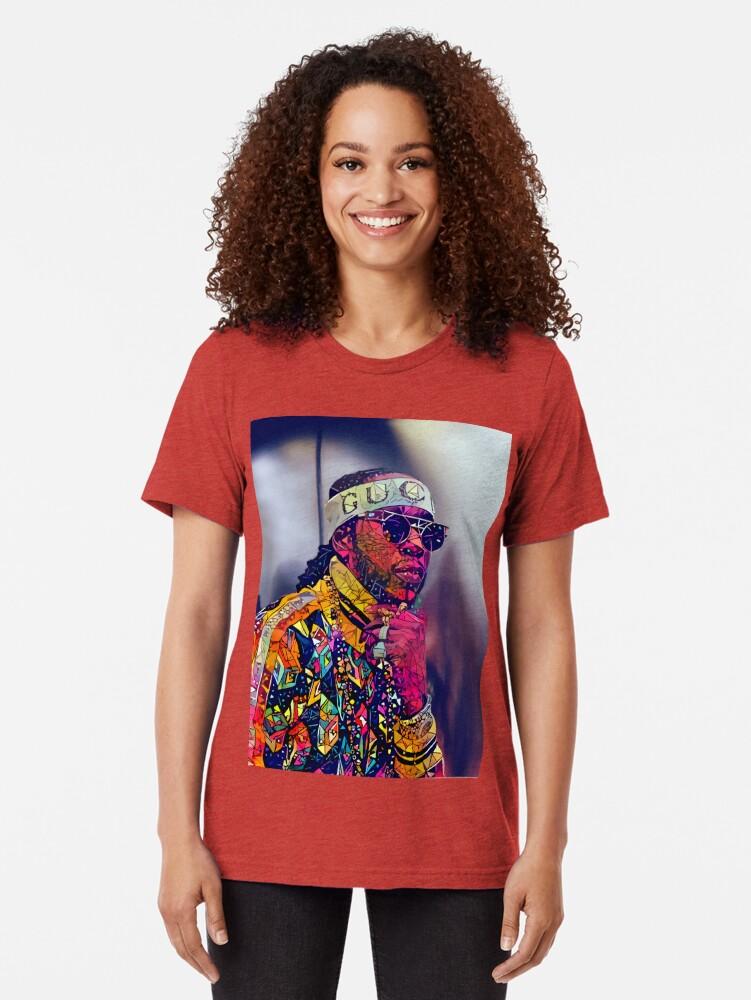Alternative Ansicht von Zusammenfassung 2 Chainz Vintage T-Shirt