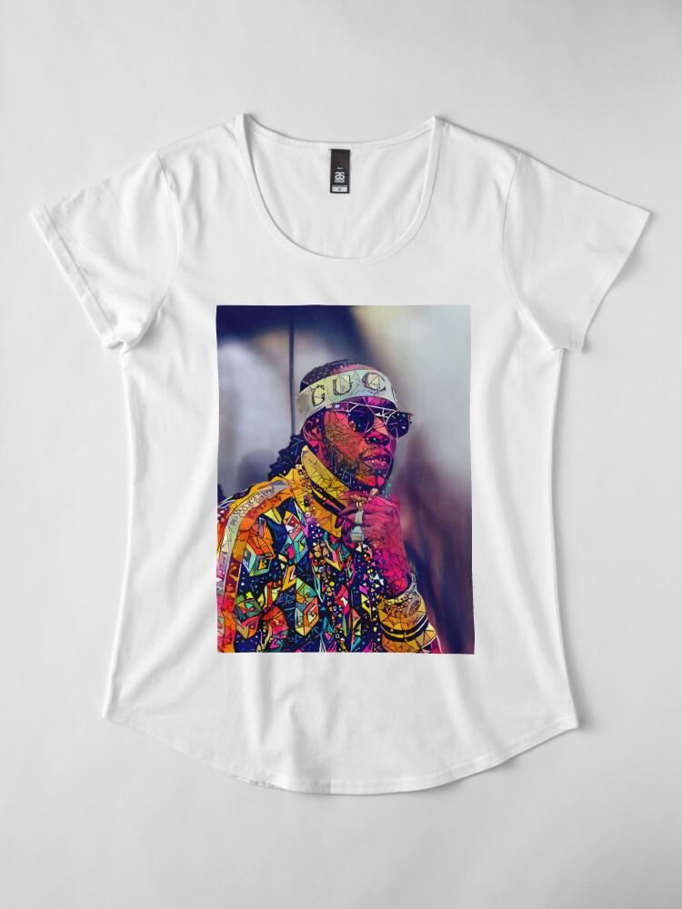 Alternative Ansicht von Zusammenfassung 2 Chainz Frauen Premium T-Shirt