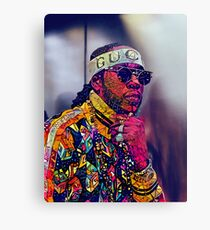 Abstract 2 Chainz Canvas Print