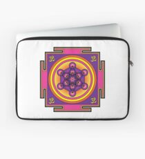 Metatron's Cube Mandala Laptop Sleeve