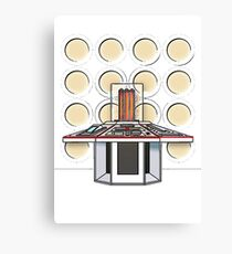 4's TARDIS Control Room Canvas Print