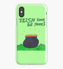 Irish Luck Be Yours iPhone Case/Skin