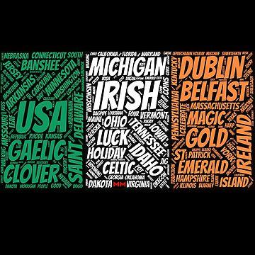 Magical Irish flag by martynesmerch