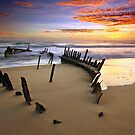 Sunrise Dicky Beach by Annette Blattman