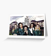 Derry Girls Greeting Card