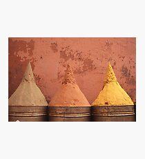 Spice cones Photographic Print