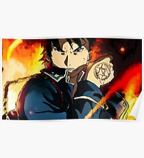 Póster Roy Mustang