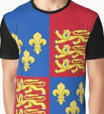 Henry V - Royal Arms of England (1399-1603) Graphic T-Shirt