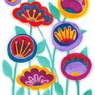 raw flower garden by nuanz