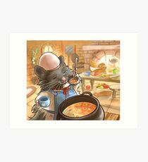 Chef Ham Art Print