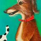 Sunny the Sighthound by Hannah Dosanjh