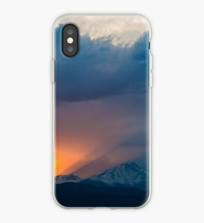 Dance of Light and Clouds iPhone Case