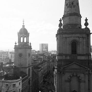 Corn Street - Bristol (Black and White) by john76